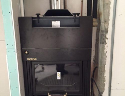 Realizzazione impianto termocamino